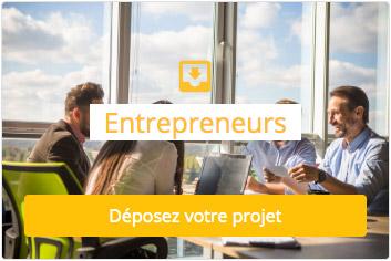 Entrepreneurs déposez votre projet